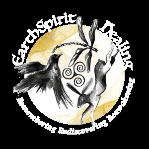 Earth Spirit Logo - white gold