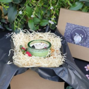 Spring New Moon Ritual Candle