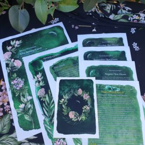 Spring New Moon Ritual Journal Pages